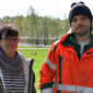 Lena Brundin och Nicklas Andersson