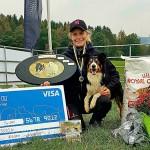 Johanna och Ztill - vinnare Ungdoms-SM